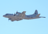 A Navy P-3c In Souda Bay, Crete, Greece Image