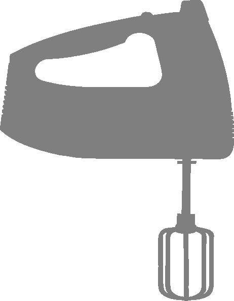 Mixer Clip Art ~ Hand mixer clip art at clker vector online