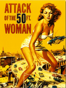 Attack Of The Foot Woman Image