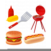 Clipart Of Barbeque Grills Image