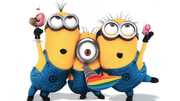 Despicable Me Minions X | Free Images at Clker.com ...