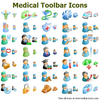 Medical Toolbar Icons Image