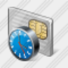 Icon Chip Card Clock Image