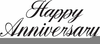 Happy Th Anniversary Clipart Image