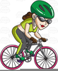 Clipart Mountain Bike Rider Image