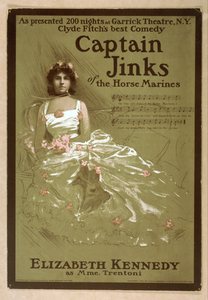 Captain Jinks Of The Horse Marines As Presented 200 Nights At Garrick Theatre, N.y. : Clyde Fitch S Best Comedy. Image