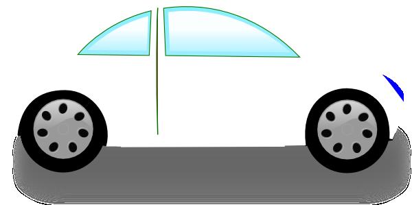 white car clip art at clker com vector clip art online royalty
