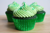 Green Cupcakes Image