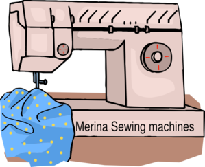 Merina Sewing Machine Clip Art
