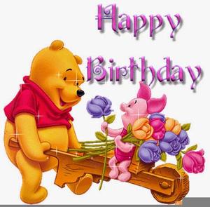 winnie the pooh happy birthday clipart free images at clker com rh clker com winnie the pooh happy birthday clip art Winnie the Pooh Baby Shower Clip Art