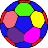 Color Handball Ball A Image