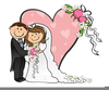 Stick Figure Bride And Groom Clipart Image