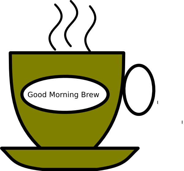 good morning brew clip art at clker com vector clip art online rh clker com morning clipart pictures morning clipart black and white