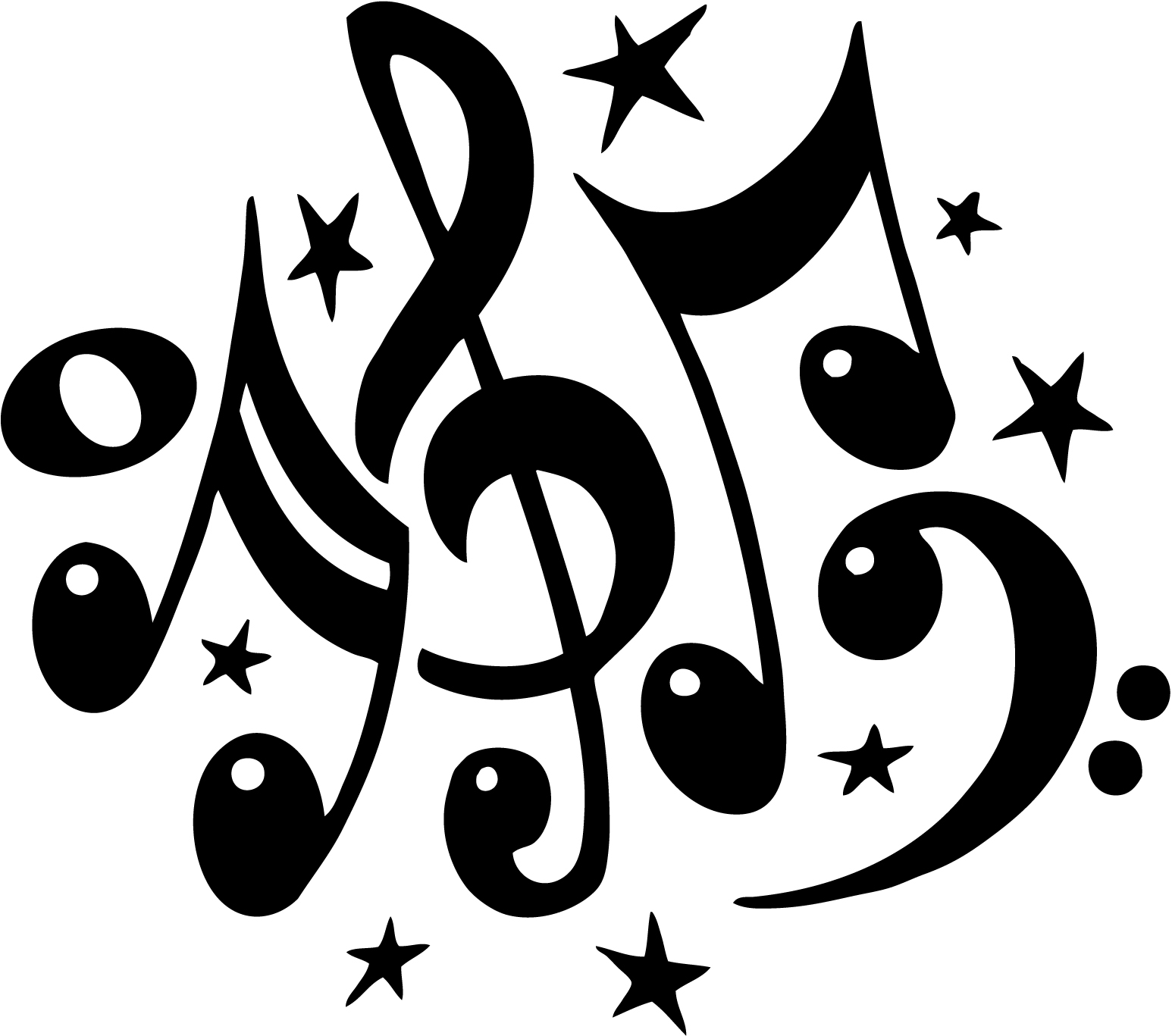 free clipart music note symbol - photo #13