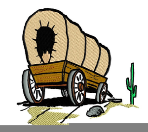 Free Covered Wagon Cliparts Image