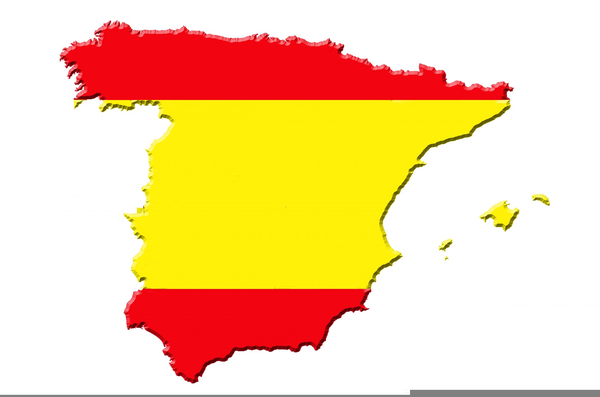 Small Map Of Spain.Map Of Spain Clipart Free Images At Clker Com Vector Clip Art