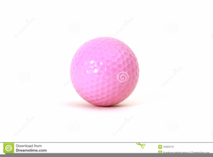 pink golf ball clipart free images at clker com vector clip art