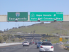 Interstate Exit Sign Image