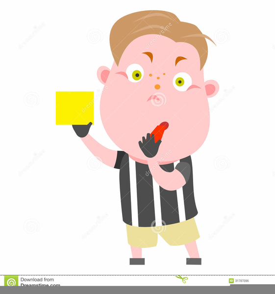 Free Soccer Referee Clipart | Free Images at Clker.com ...