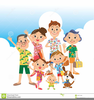 Free Cartoon Clipart Of Families Image