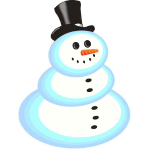 clipart snowman free - photo #36