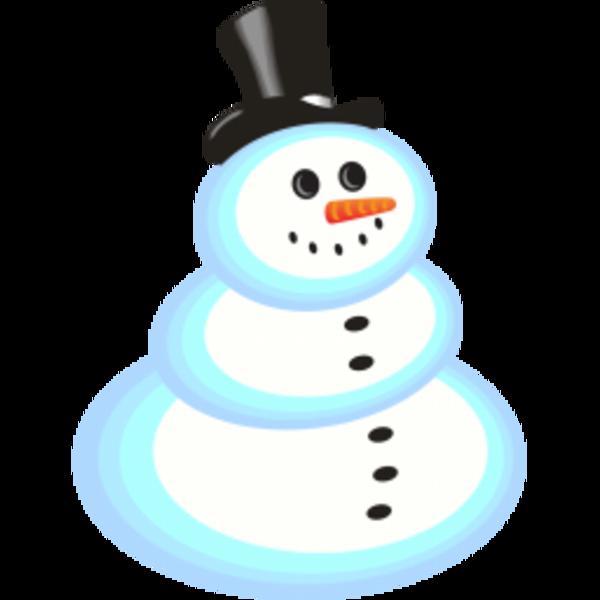 Snowman | Free Images at Clker.com - vector clip art online, royalty ...