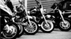 Black White Motorcycles Image