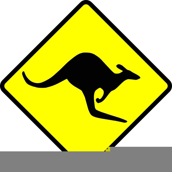 Kangaroo Christmas Clipart | Free Images at Clker.com ...