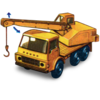 Dodge Crane Truck With Movement Icon Image