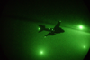 An Ea-6b Prowler Is Illuminated By Visible Moonlight During Blue Water Night Operations And Combat Maneuvering In Support Of Operation Iraqi Freedom Image