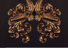 Gold Baroque Design Image