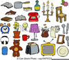 Free Clipart Household Items Image