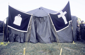 Temporary Chapel On Pentagon Grounds Image