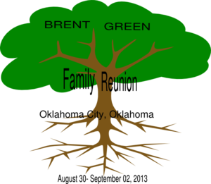 Brent- Green Family Reunion Clip Art