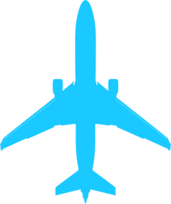 Airplan Clip Art