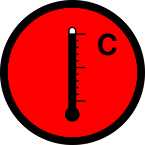 Thermometer Hot Clip Art