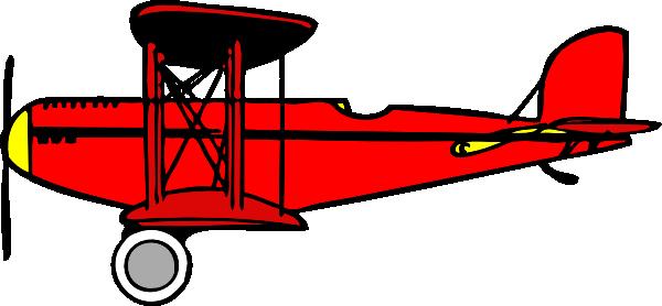 red biplane clip art at clker com vector clip art online airplane clipart powerpoint airplane clip art free