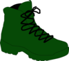 Army Boot Clip Art