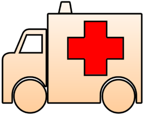 Ambulance Cutout Clip Art
