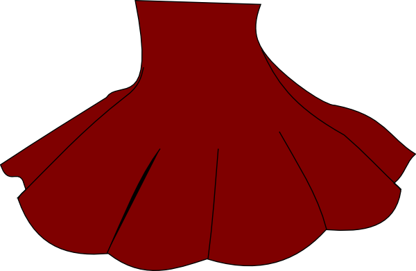 Red Skirt Clip Art at Clker.com - vector clip art online ...