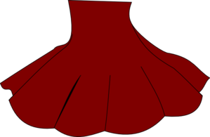 Red Skirt Clip Art