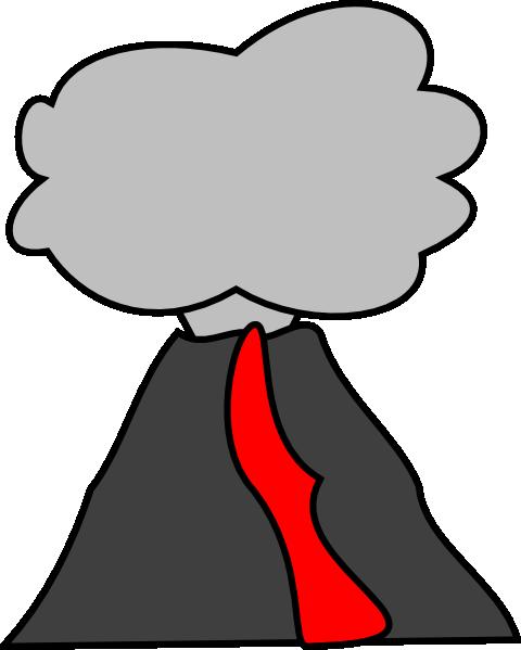 V Is For Volcano Clipart Volcano Clip Ar...