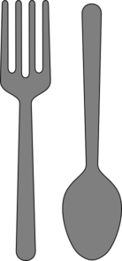 Fork And Spoon Clip Art