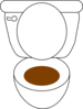 Brown Down Clip Art