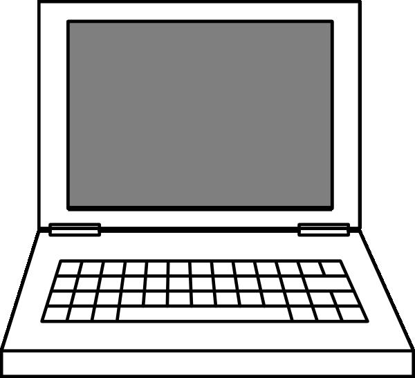 laptop clip art at clker com vector clip art online royalty free rh clker com laptop clipart icon laptop clipart transparent