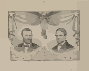 National Union Republican Candidates  / Lith. Of Kellogg & Bulkeley, Hartford, Conn. Clip Art