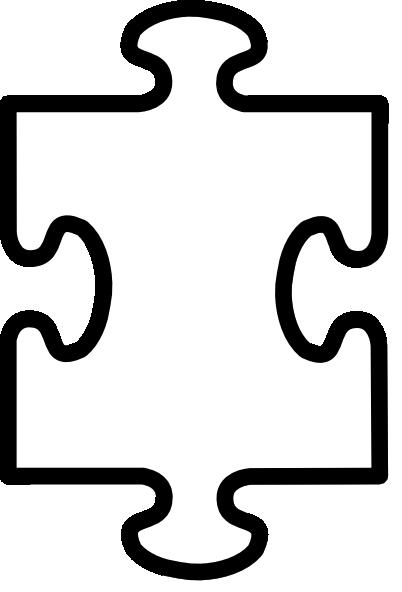 Puzzle piece clip art at vector clip art online royalty free public domain - Puzzle dessin ...