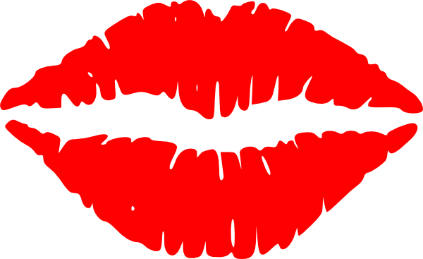 clip art kissing. Lips Vector clip art