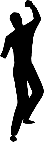 Dance Silhouettes Clip Art