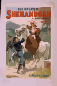 The Greater Shenandoah By Bronson Howard. Clip Art